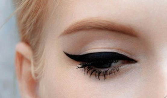 Image result for winged eye makeup