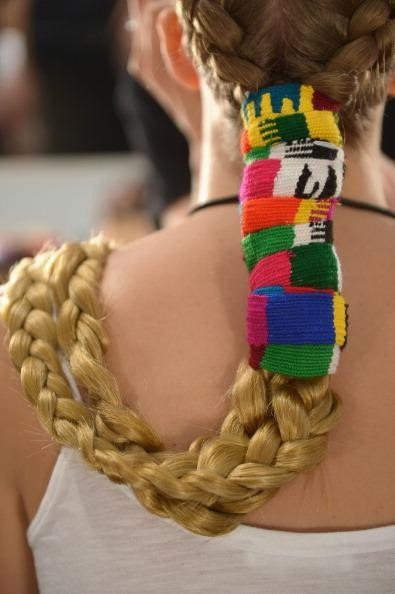 Mara Hoffman - Backstage - Mercedes-Benz Fashion Week Spring 2014